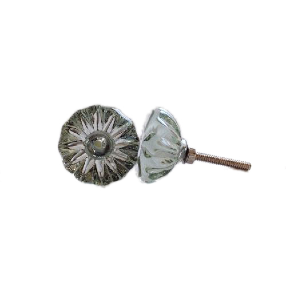 Flower Shaped Metal Knobs