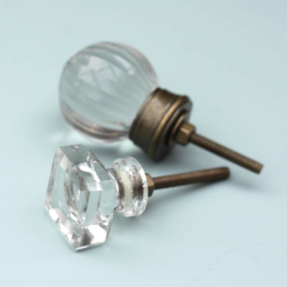 Glass & Metal Knobs