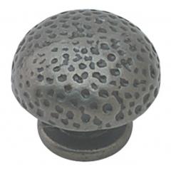 Hammered  knob