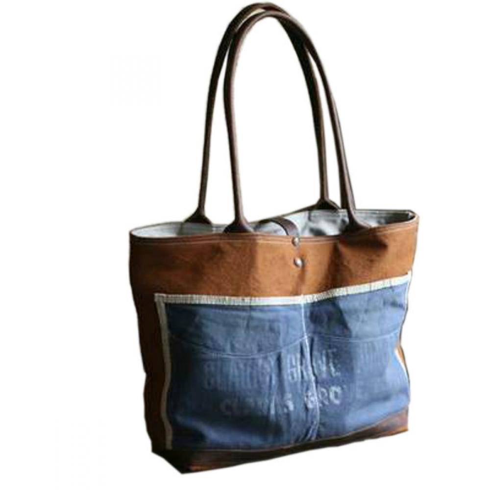 Canvas & Denim Bag