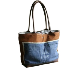 Canvas & Denim Bag