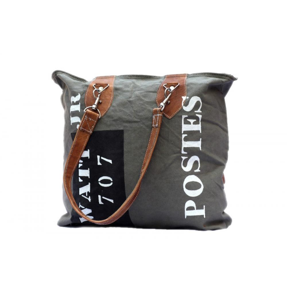 Canvas Postes Bag