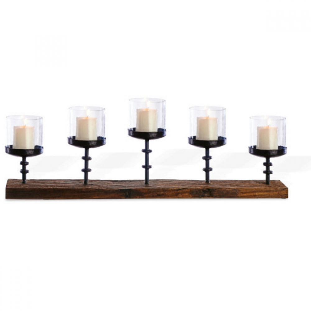 5 - Piller Candle Stand