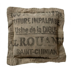 Saint Canvas Cushion