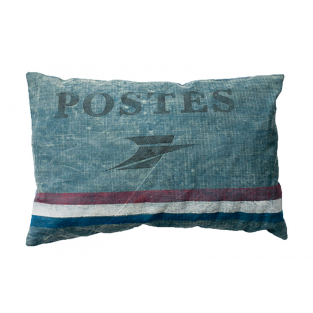 Postes Canvas Cushion