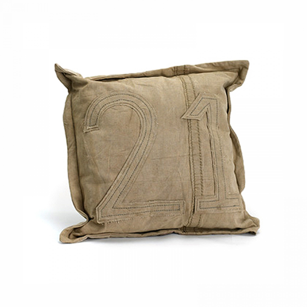 Eiffel Tower Canvas Cushion