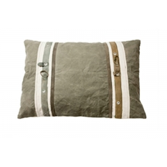 Washed Canvas Cushion