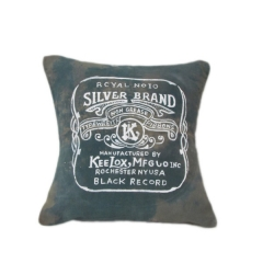 Old Canvas Cushion