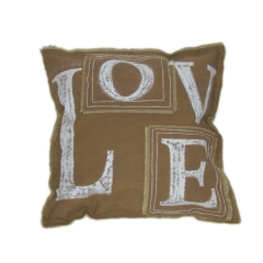 Painted Canvas Cushion