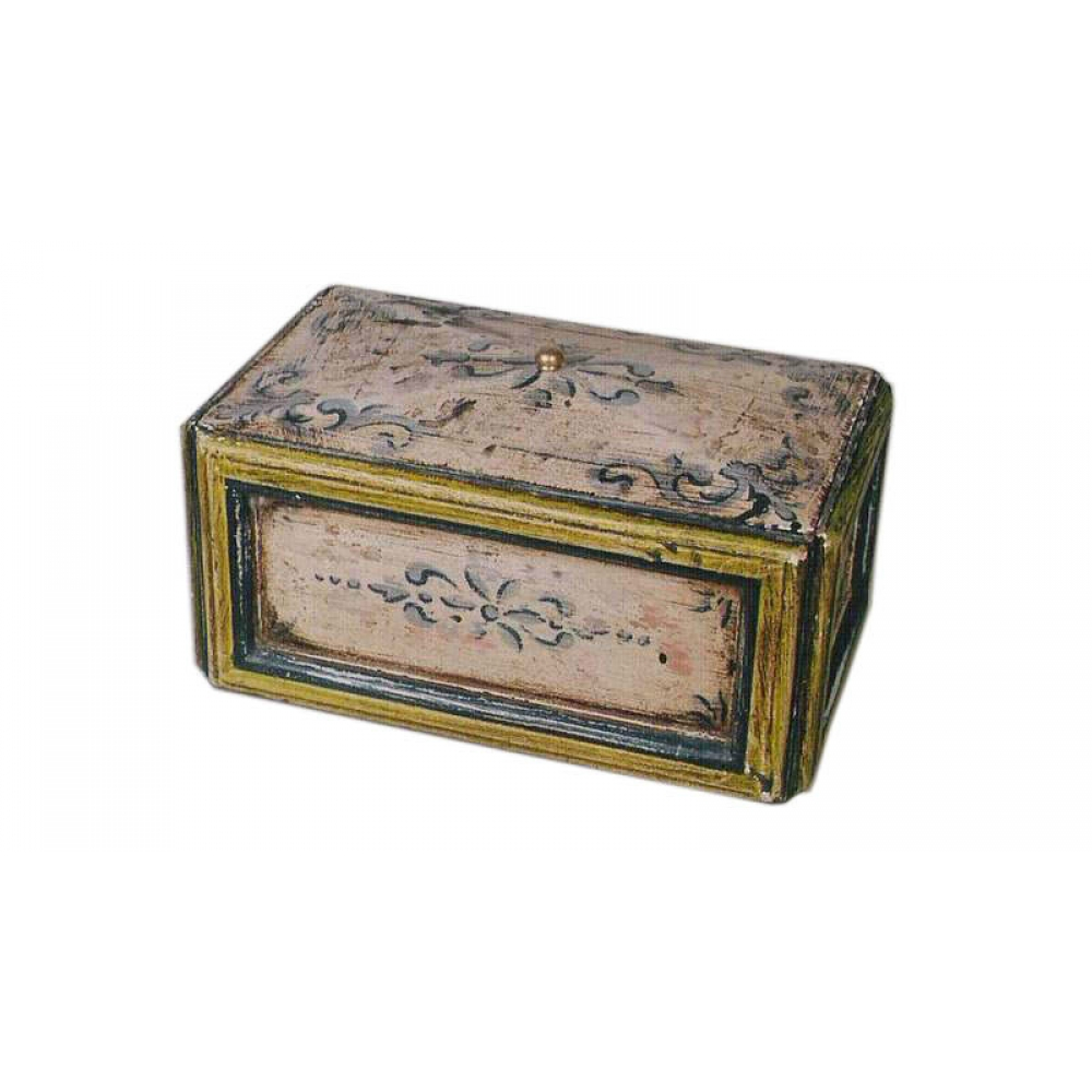 Box With Floral Paintings