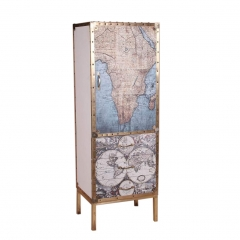 Tall Cabinet with Stand