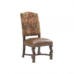 Killim & Leather Armchair