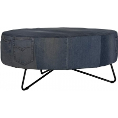 Denim coffee table