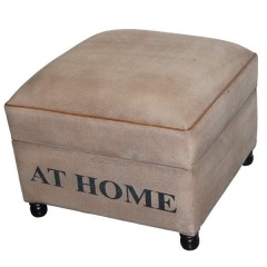 Home Canvas Ottoman