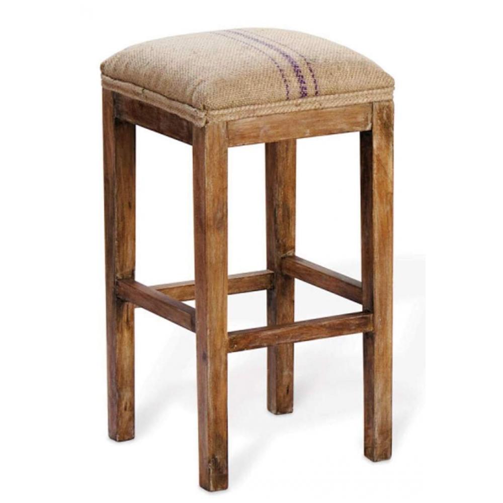 Bar Stool with jute seat