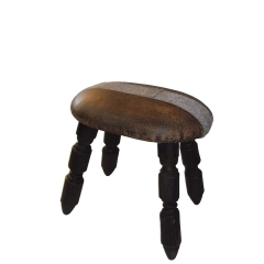 Vintage Leather Stool