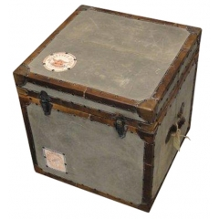 Militry Canvas Trunk