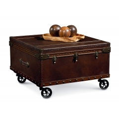 Cart Leather Trunk