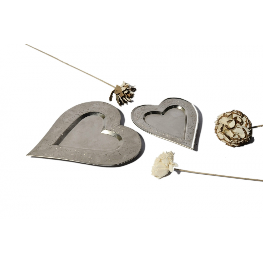 Heart Votive Holder S/2