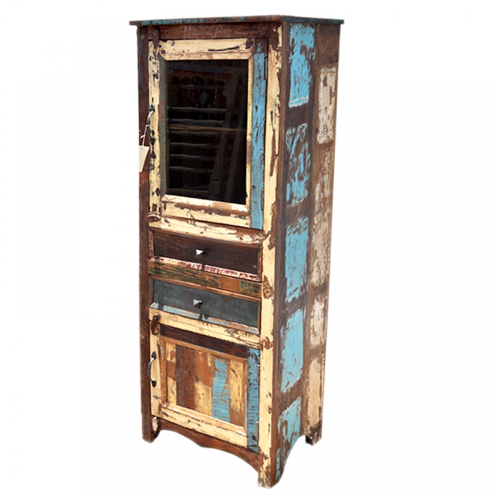 Reclaimed Tall Cabinet