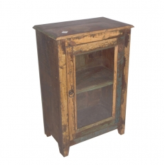 Reclaimed Glass Door bedside