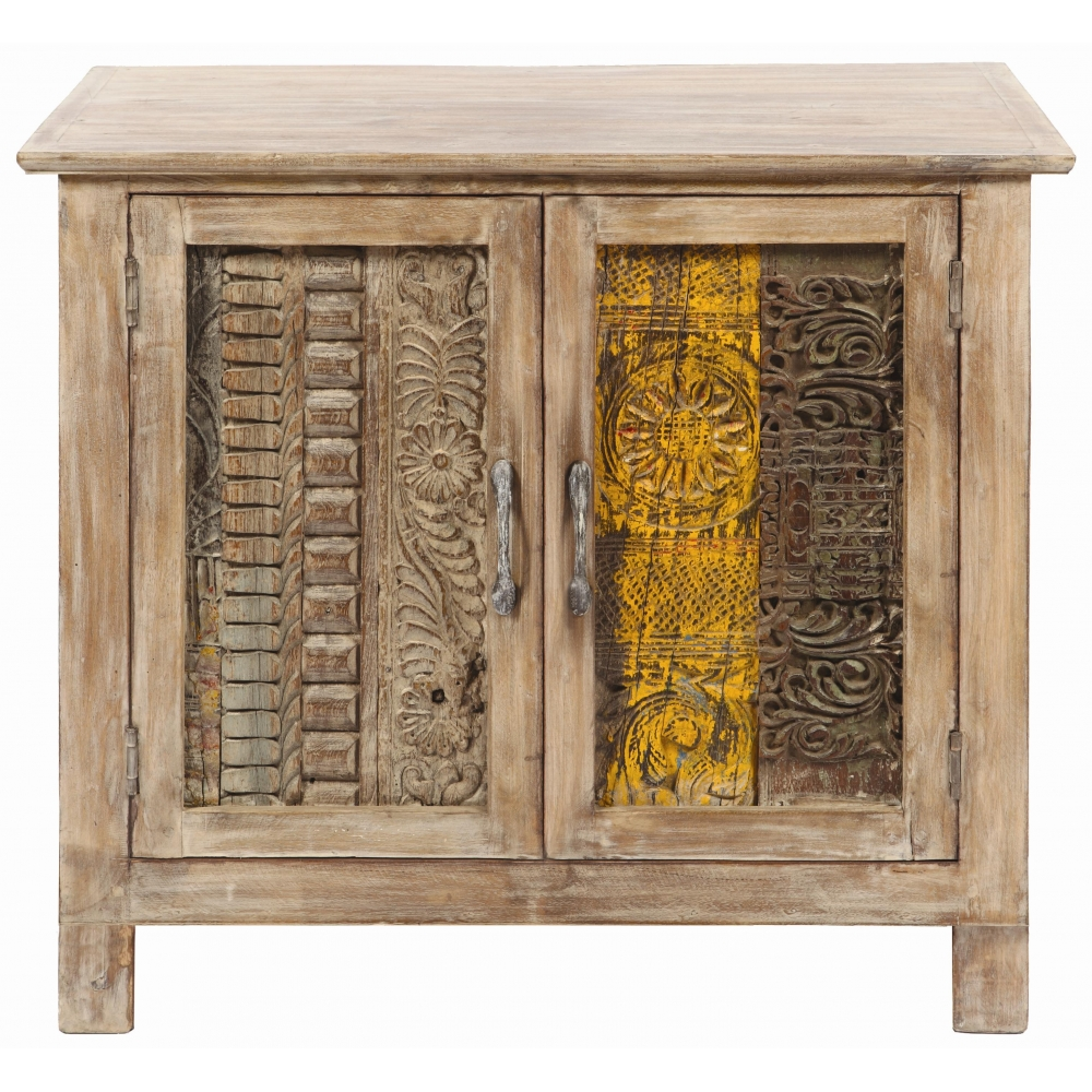 Carved Panel Cabinet