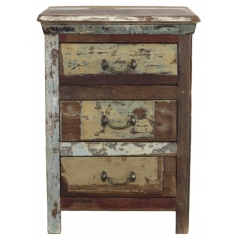 3 Drawer Reclaimed Wood Cabinet