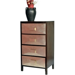 4 Drawer Diamond Shape Cabinet