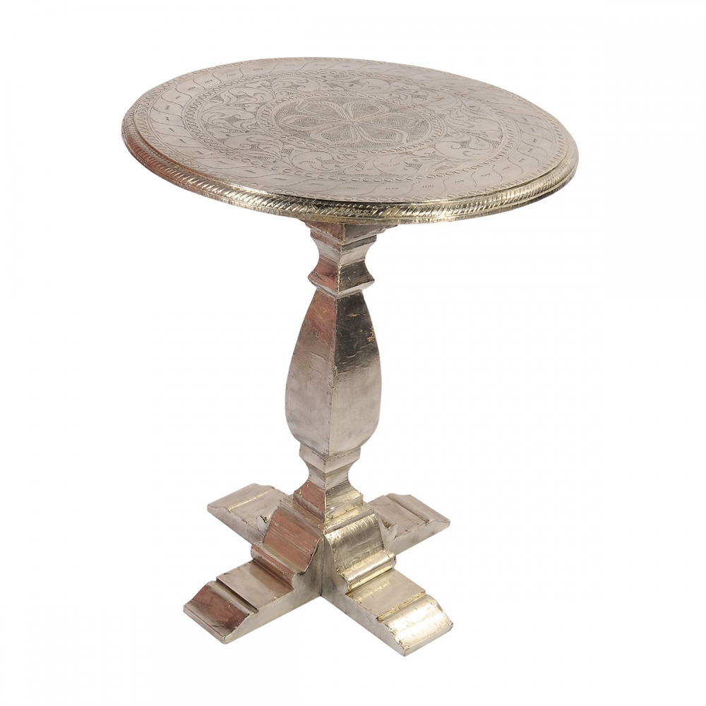 Metal Fitted Centre Table