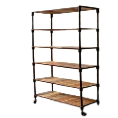 Ample Style Industrial Bookshelf