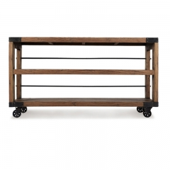 Industrial Bookshelf  Cart