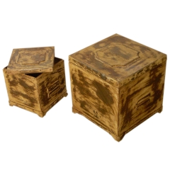 Distressed Boxes S/2