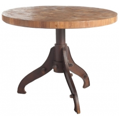 Rustic Round Dinning Table