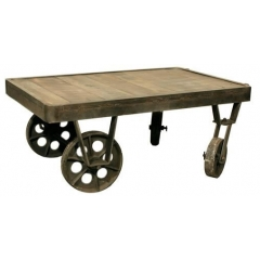 Railroad Cart Coffee Table