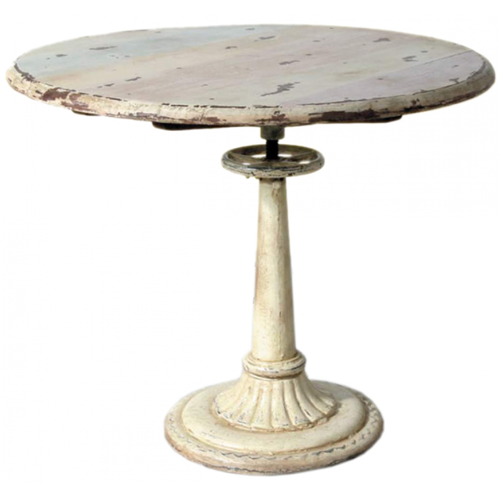 Fountain Style Industrial Table