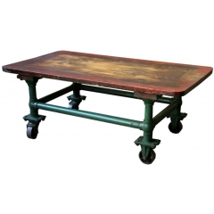 Industrial Center Table