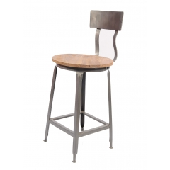 Round Industrial Chair