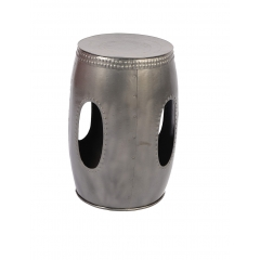 Iron Drum Stool